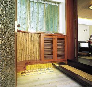100平米日式经典玄关装修效果图
