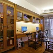 精巧中式书房吊顶展示