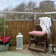 阳台舒适生态木地板