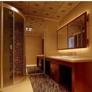 温暖的卫生间设计