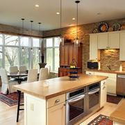 小户型别墅开放式厨房