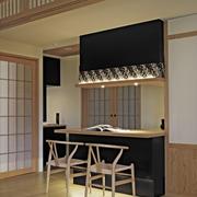现代日式风格吧台