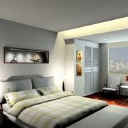 都市男士卧室