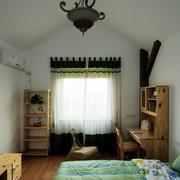 阁楼卧室简约窗帘