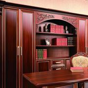 中式风格书房书柜