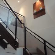 楼梯玻璃扶手欣赏
