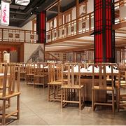 火锅店实木餐桌椅