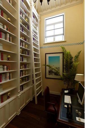 大户型书柜楼梯