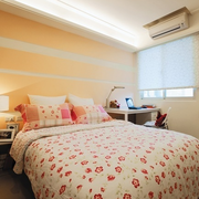 都市温馨的卧室