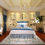 豪华摩登的卧室