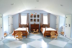 阁楼精致儿童卧室