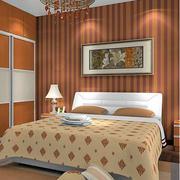 温馨黄色的卧室装潢