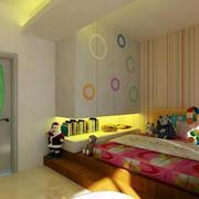 儿童房条纹壁纸欣赏