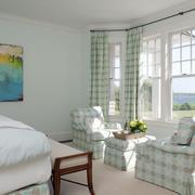 精巧自然卧室窗帘