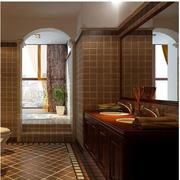 卫生间壁板瓷砖展示