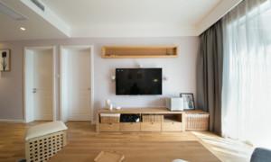 客厅生态木地板欣赏