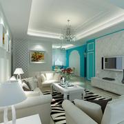 素雅客厅设计