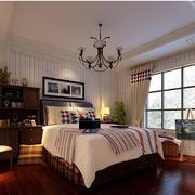 美式风格家居卧室