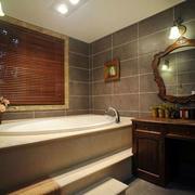 卫生间浴缸装潢展示
