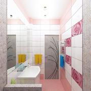 卫生间瓷砖背景墙效果图
