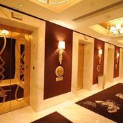 精致美观的酒店电梯