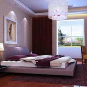 家庭卧室紫色浪漫