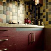 厨房马赛克背景墙