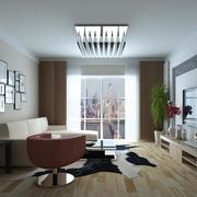 现代简约的客厅