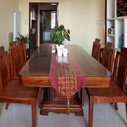 餐厅实木餐桌椅展示