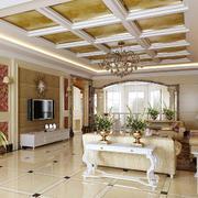 大户型别墅客厅
