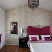 阁楼卧室液体壁纸