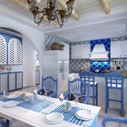 地中海风格餐厅展示