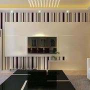 有线条感的客厅吊顶