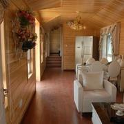 别墅走廊沙发布置