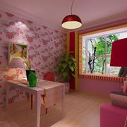 粉色田园餐厅