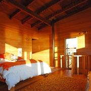 自然乡村卧室设计