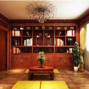 现代书房榻榻米展示