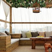 舒适休闲的阳光房