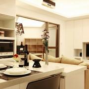 纯净现代客厅装潢