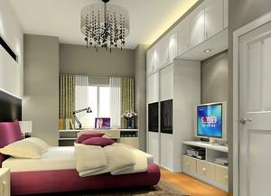 现代潮流范儿卧室衣柜