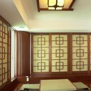 日式饭店包厢