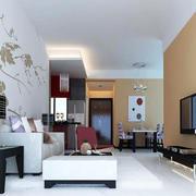简洁现代化的客厅空间