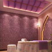 美容院紫色梦幻吊顶