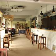 咖啡店吧台装潢