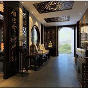 中式典雅温馨鞋柜