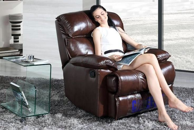 自住型商品房客厅舒适芝华士沙发装修效果图