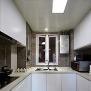 厨房白色橱柜欣赏