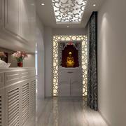 白色玻璃走廊吊顶