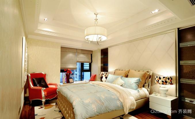 不一样的大户型欧式精品卧室背景墙装修效果图