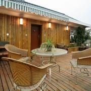 木屋别墅露台欣赏